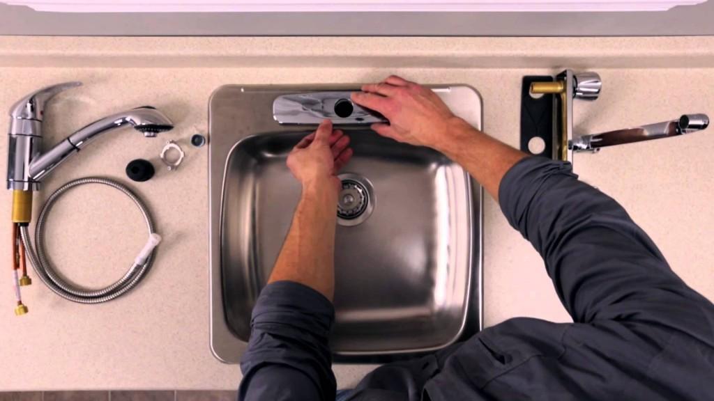 changer un robinet de cuisine