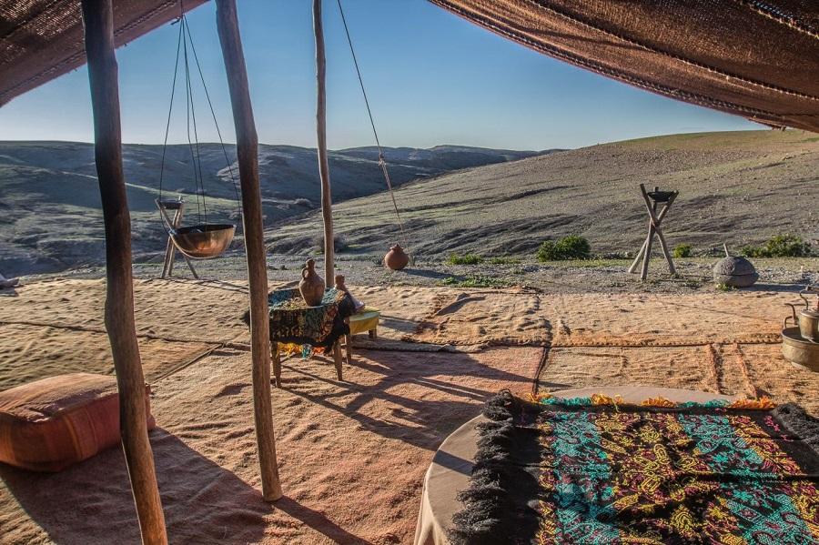 12. Séjourner dans un bivouac à Marrakech - une vision authentique du désert